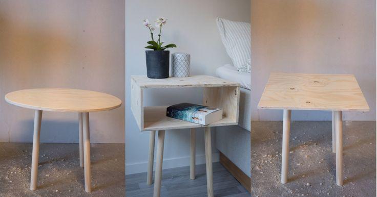 Trenger du nytt kaffebord til stuen? Eller er du på jakt etter nytt nattbord? Med denne oppskriften kan du lage begge deler selv.