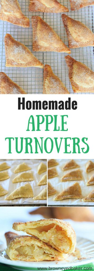 Apple Turnovers (From Scratch!)