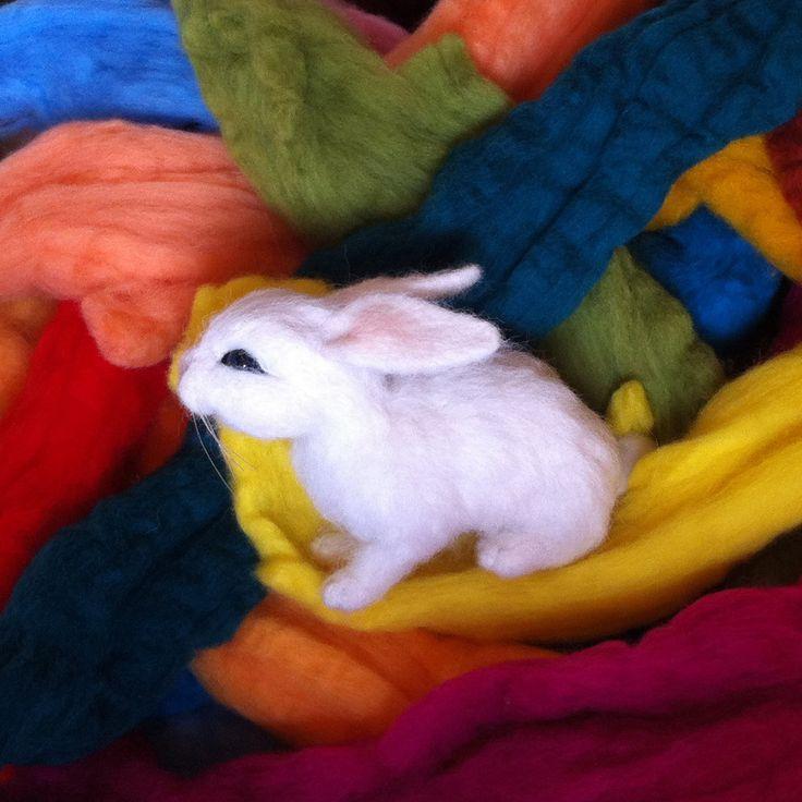 Needle felted animal, cute miniature bunny, wool #needlefelted #miniatureanimalfigurines #toytoys #handmade #natural #fiberast #cute #realisticanimal #homedecor #birthdaygift #giftideas #merinowool #animalsculpture #miniaturegift #naturalwool #handmadeanimal #feltdoll #happyanimals #blackfridayetsy #naturalwooltoys #collectable #christmas #ecofrendly #waldorf #creative #ecotoys #feltcrafts #imaginative #childrenkids #giftforanimallovers  #giftforcraftlovers #woolanimal #funny