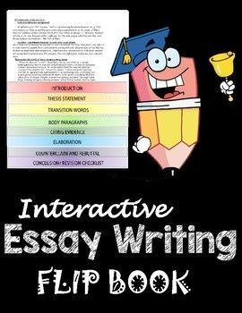English Essays Book Interactive Essay Writing Flip Book Is A Great Reference And A Guide To  Help Students With Writing Essays Includes Methods And Examples For  Introductions  Narrative Essay Thesis Statement Examples also Proposal Essay Format Interactive Essay Writing Flipbook  Tpt Essentials  Essay Writing  Essay For High School Application