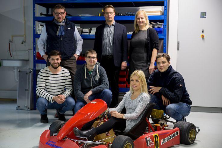 Anzeige | Studenten der SRH Hochschule Heidelberg entwickeln mit e-flow das Go-Kart der Zukunft - HYYPERLIC.com #SRHHochschuleHD