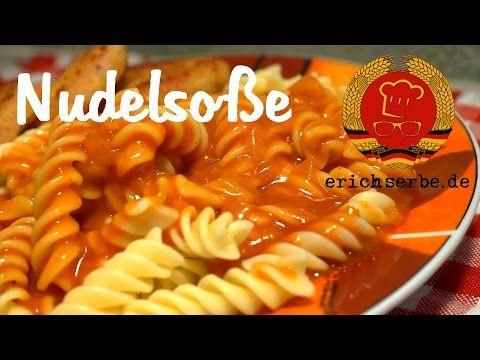 Nudelsoße mit Ketchup (Tomatensoße) - Essen in der DDR: Koch- und Backrezepte für ostdeutsche Gerichte | Erichs kulinarisches Erbe
