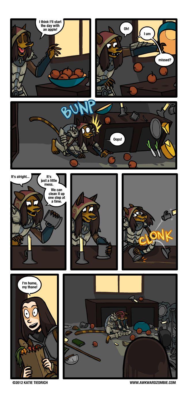 Skyrim Comics