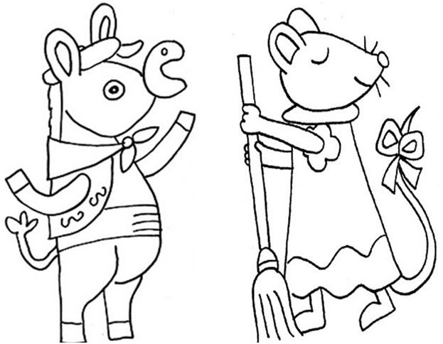 Traditional Tales printable characters (in french) Titelles imprimibles dels contes clàssics