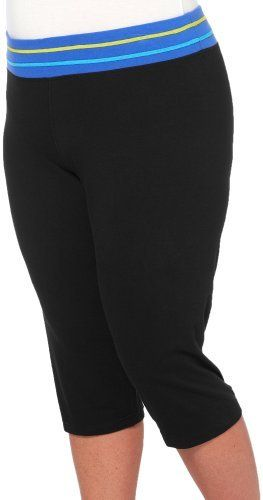 Plus Attivo Plus Color Band Waist Capris Attivo. $20.40