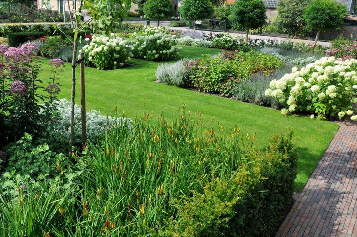 Landelijke tuin tuinen pinterest tuin tuinen en vijvers for Tuin inrichten planten