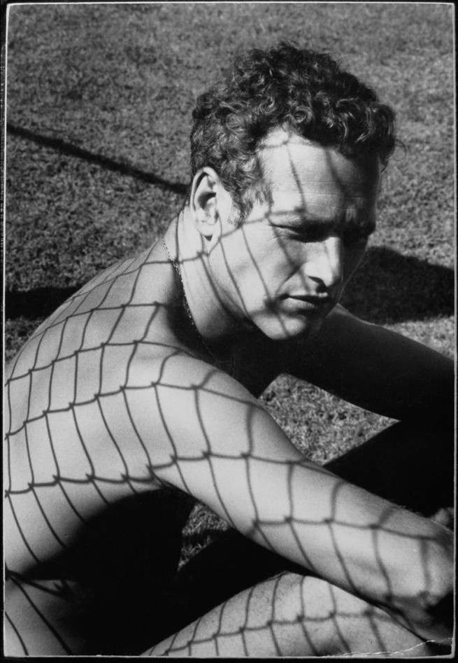 Exhibition: 'Dennis Hopper - The Lost Album. Vintage Photographs of the 1960s' at Martin-Gropius-Bau, Berlin http://wp.me/pn2J2-3pi Dr Marcus Bunyan. Photo: Dennis Hopper. 'Paul Newman' 1964