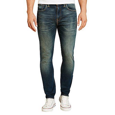 Buy Levi's 512 Slim Tapered Jeans, Captain Patrick Online at johnlewis.com