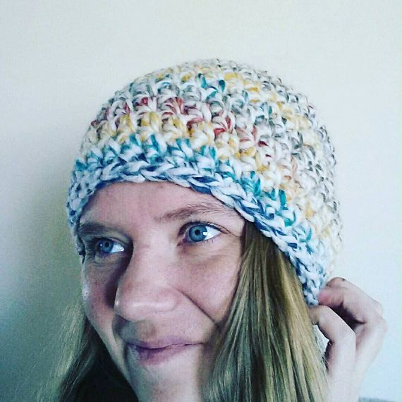 Check out this item in my Etsy shop https://www.etsy.com/ca/listing/521894533/crochet-slouch-hat-hudson-bay-winter-hat