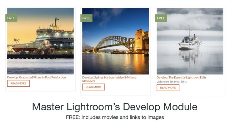The Lightroom Develop Tutorials will help you master the art of optimising and stylising your photographic images.