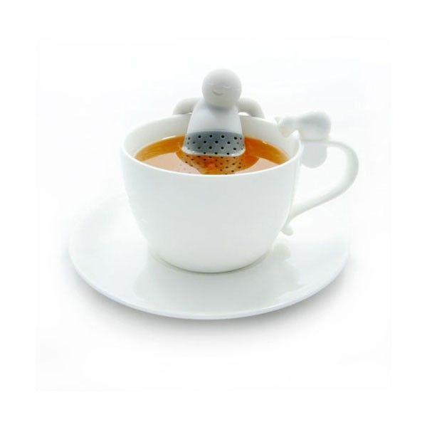 Idealny kompan do herbaty. Z przyjemnością wymoczy się w Twojej ulubionej mieszance i upilnuje niesforne fusy.