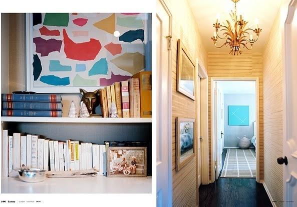 art: Modern Art, Hallways, Diy Art, Artworks Ripped Paper, Luludk, Art Ideas, Book Shelves, Bookca, Construction Paper