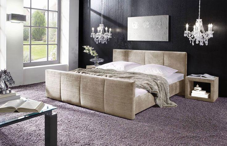 Polsterbett mit Bettkasten und Matratze bestellbar - Caserta