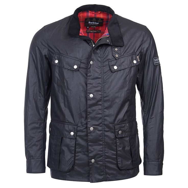 Barbour Enfield Wax Jacket - Black - Barbour - Shop By Brand