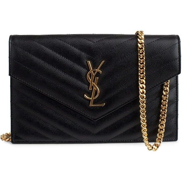 Saint Laurent Wallet (7,055 EGP) ❤ liked on Polyvore featuring bags, wallets, monogrammed wallet, monogrammed bags, yves saint laurent, yves saint laurent bags and decorating bags