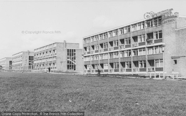 Widnes, The Flats c.1965, from Francis Frith
