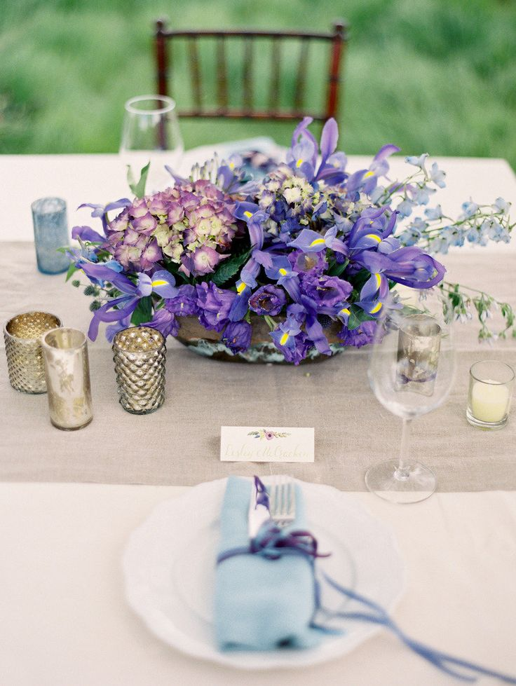 Best images about purple and blue wedding colors on