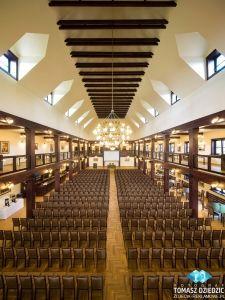 Sala konferencyjna folwarku zalesie