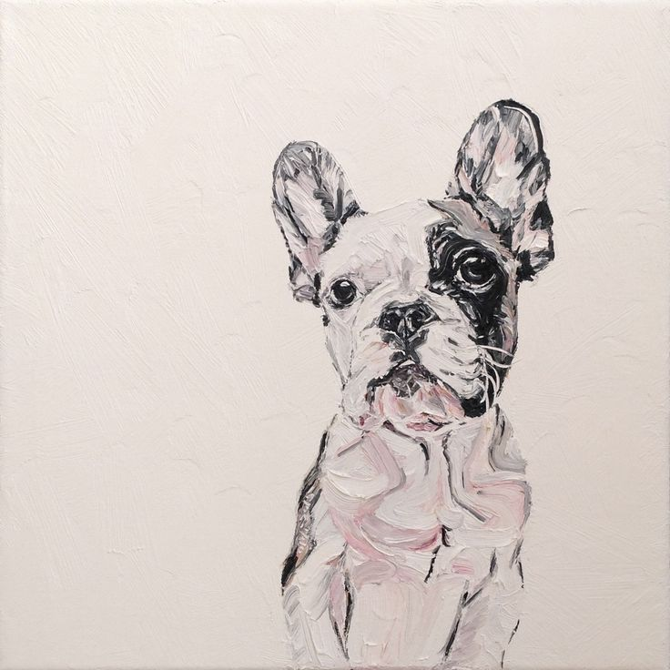 Oldi's Portfolio - 2015 #oldiart #oil #canvas #painting #frenchy #frenchbulldog #brixton