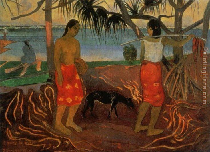 Gauguin pandanus tree