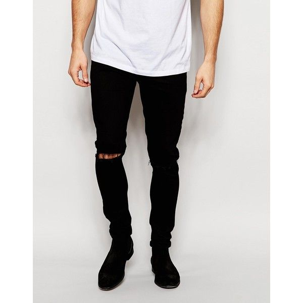 25  best ideas about Knee ripped jeans mens on Pinterest | Ripped ...