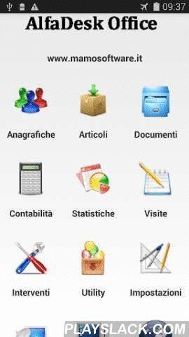 Interventi Laboratorio  Android App - playslack.com , AlfaDesk Interventi è il gestionale a 360° Nuovissima funzione inserita nel gestionale AlfaDeskSb ed AlfaDeskPro Vi consente la registrazione dei vostri interventi presso la vostra clientelaScarica la versione e prova tutte le sue funzioni . Se poi sarai soddisfatto passa alla versione ProTutte le funzioni sono descritte nell' App AlfaDeskSb ed AlfadeskPro-- Gestione anagrafiche-- Gestione articoli-- Creazione Documenti-- Funzioni di…