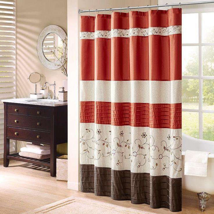 Best 20 floral shower curtains ideas on pinterest white - Madison park bathroom accessories ...