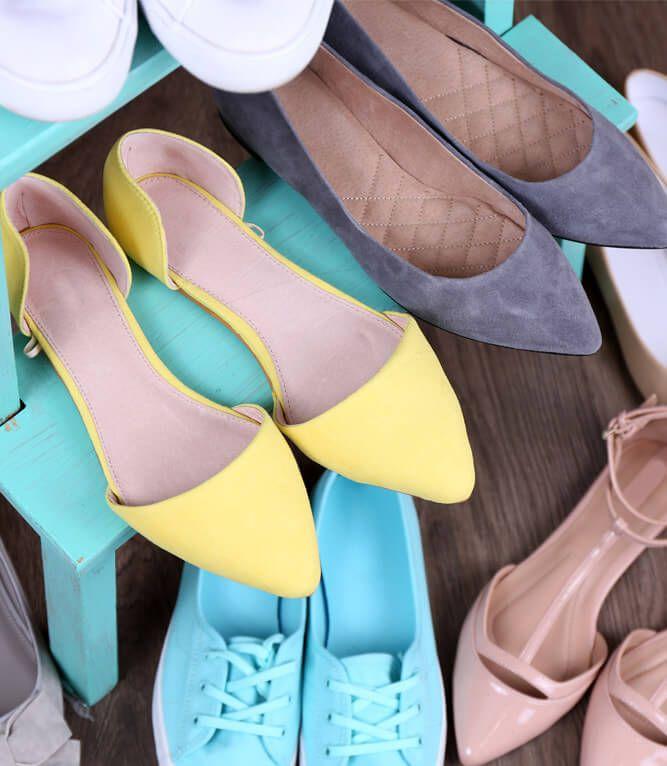 O cuidado certo para cada tipo de sapato