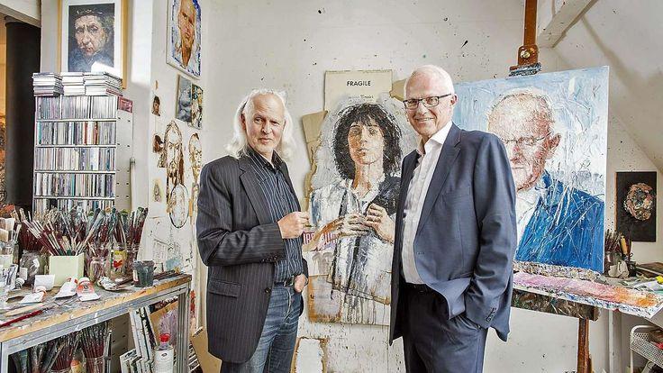 Oliver Jordan portraitiert Jürgen Rüttgers