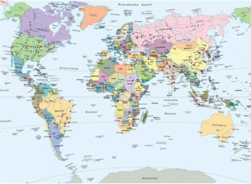 Puzzel Wereldkaart (CITO)