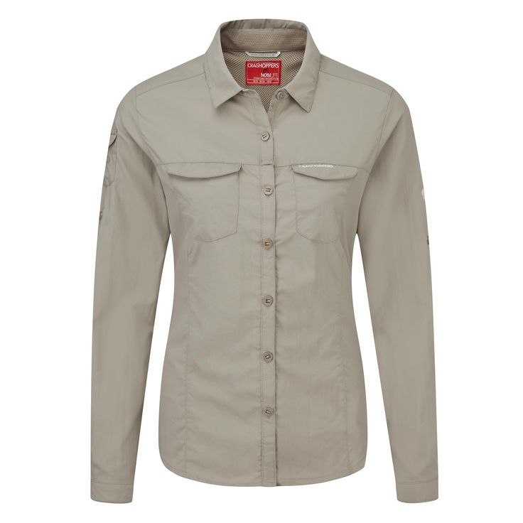 Doorout Angebote Craghoppers Nosilife Adventure Langarm Bluse braun Damen Gr. 40: Category: Outdoorbekleidung > Damen >…%#Quickberater%