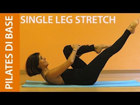 Pilates - Esercizi di Base - Single Leg Stretch