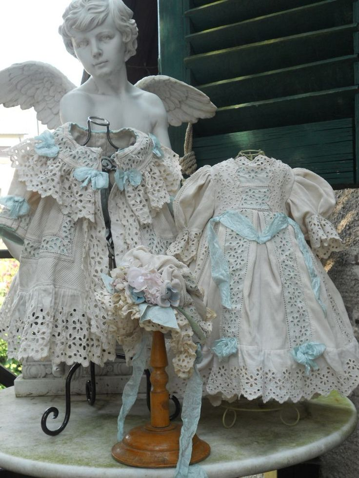 ~~~ White Three Piece French Darling Pique Costume ~~~