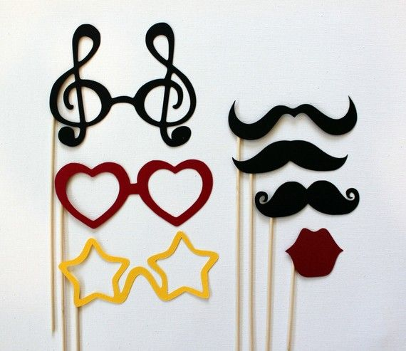 Photobooth Party on a Stick  Mustashe Lips and von LittleRetreats, $19,50Photos Booths, Photobooth Parties, Parties Props, Photobooth Props, Booths Photos, Parties Ideas, Photos Props, Booths Fun, Booths Props