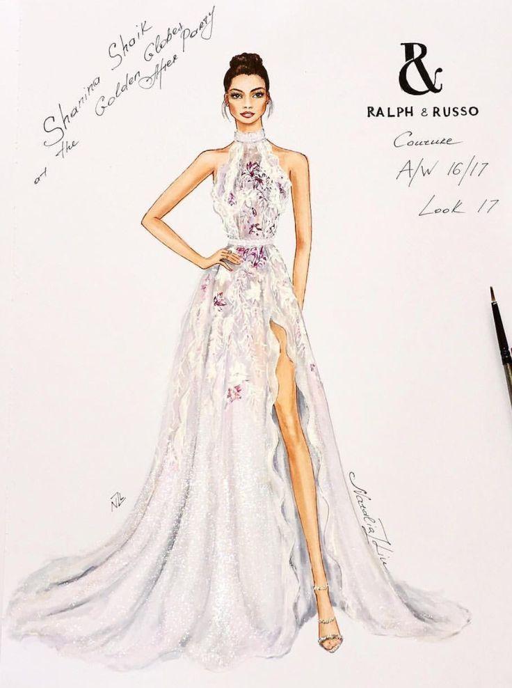 The 25+ best Dress Sketches ideas on Pinterest   Dress ...