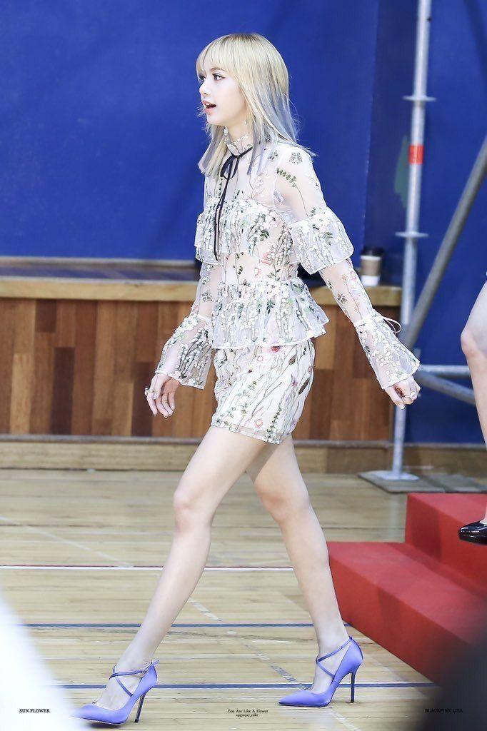 Top 10 K Pop Idols Voted With The Best Legs Koreaboo Blackpink Fashion Kpop Fashion Fashion