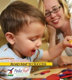 Have you seen our FREE PediaStaff Career Guide?   It was written by our staff, specifically for pediatric therapists, clinicians and special education professionals.  Download it through this pin!!