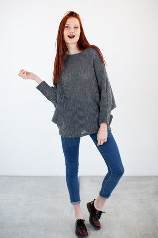Jumper Sophisticated Gray