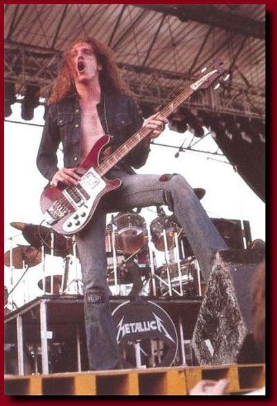 Cliff Burton's Bass ~ Rickenbacker 4001 •Metallica '1980's•