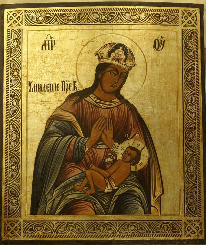 "Gudsmoder ""Tenderness"" Icon of Smolensk"