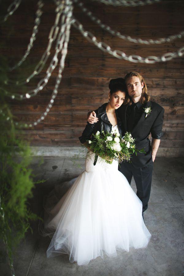 Best 20 biker wedding dress ideas on pinterest for Rock n roll wedding dress