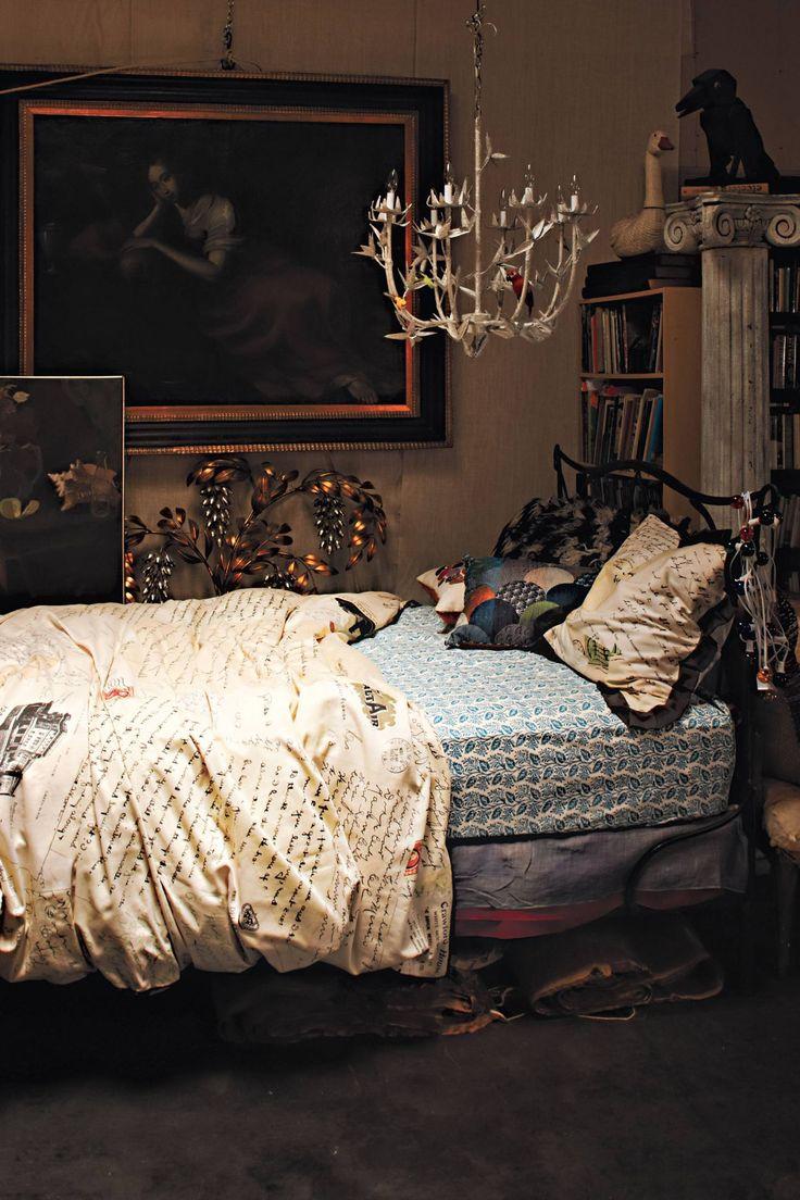 Hanging bed anthropologie - Love Letters Duvet Lasenby Bed