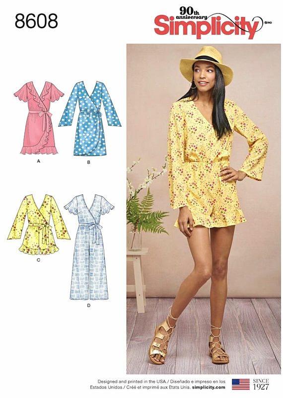 76558454ec Sewing Pattern Misses Jumpsuit Pattern