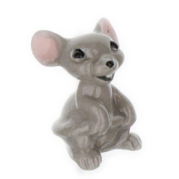 Hagen Renaker Miniature Mouse Mama Ceramic Figurine Ceramic Figurines Miniature Animals Figurines