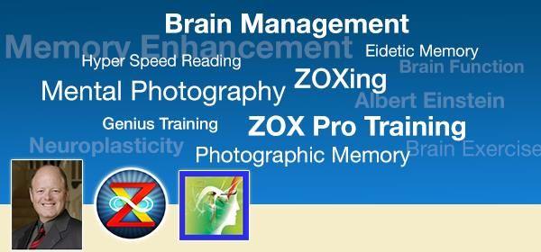 Zox Pro Training Photographic Memory Super Genius Brain Power Kesehatan