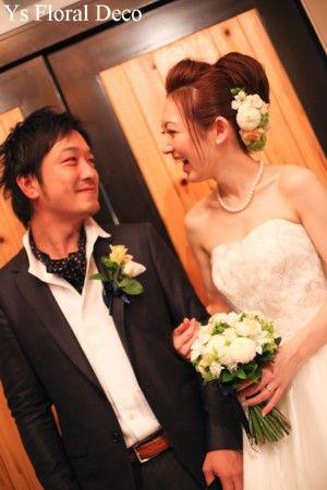 10月にウェディングパーティをなさったおふたりより、素敵なお写真をいただきましたのでご紹介です。沖縄で挙式済み、東京にてご友人中心の1.5次会的ウェディン...
