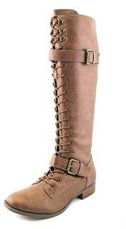 Rocket Dog Beany Women's Lace Up Combat Boots.