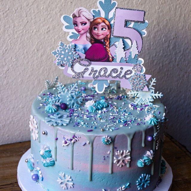Pin On Frozen Cake