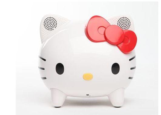 Hello Kitty Bluetooth Wireless Speaker is Portable Cuteness