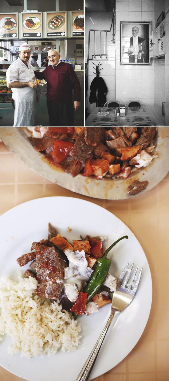 Looks delicious...Iskender at Bursa Kebapçisi restaurant